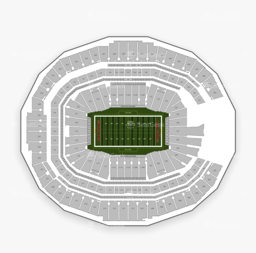 Tiaa Bank Field Seating Chart, HD Png Download, Free Download