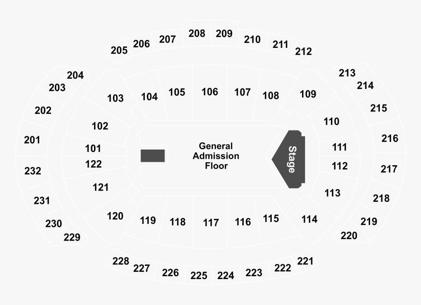 Mohegan Sun Arena Seating Chart, HD Png Download, Free Download