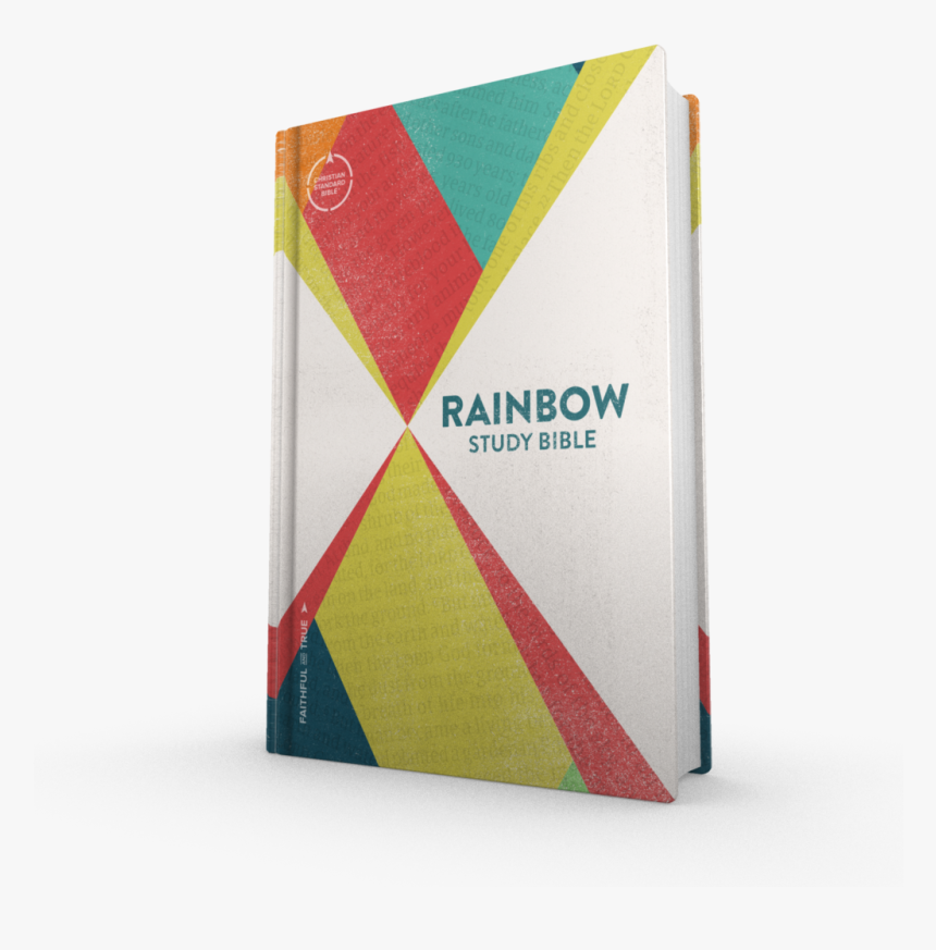 Csb Rainbow Study Bible, HD Png Download, Free Download