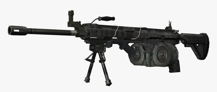 Call Of Duty Zombies Machine Gun, HD Png Download, Free Download
