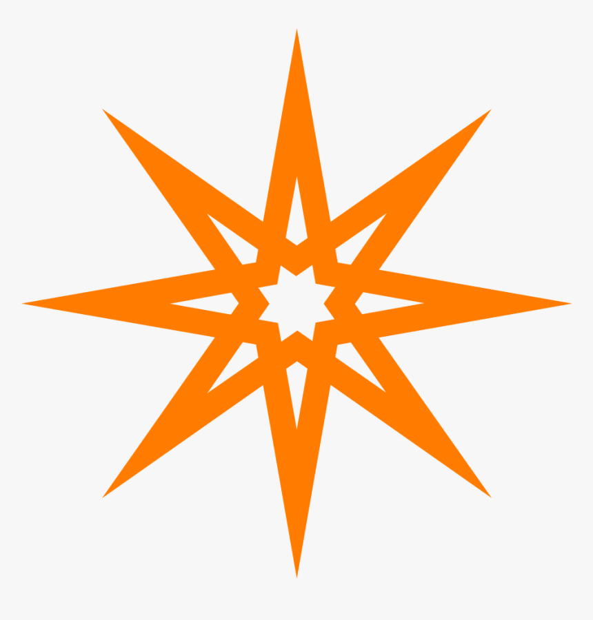 Blue 8 Point Star, HD Png Download, Free Download