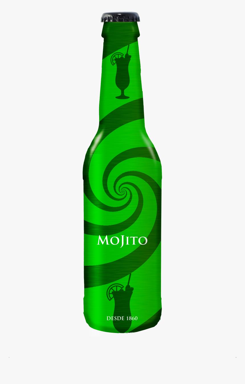 Juice Bottle Mockup - Beer Bottle, HD Png Download, Free Download