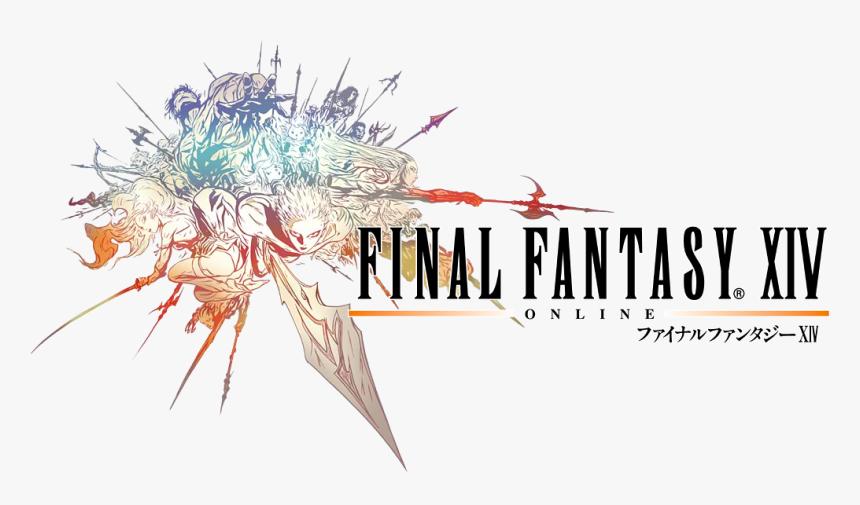 Final Fantasy Xiv Ff1 Logo - Final Fantasy 14 Logo, HD Png Download, Free Download