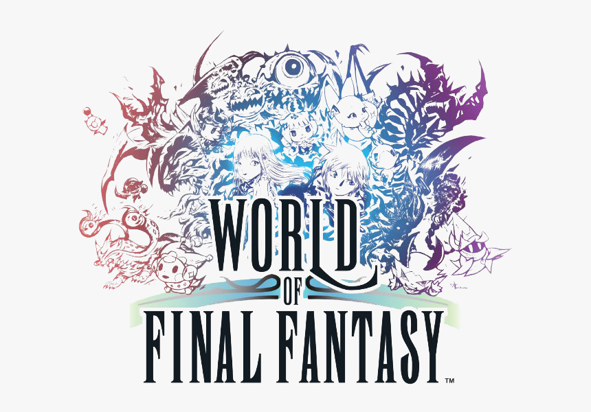 World Of Final Fantasy Maxima Logo, HD Png Download, Free Download