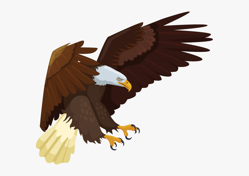 Usa Eagle Clip Art, HD Png Download, Free Download