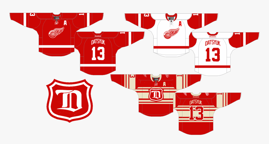 detroit red wings blue - Clip Art Library