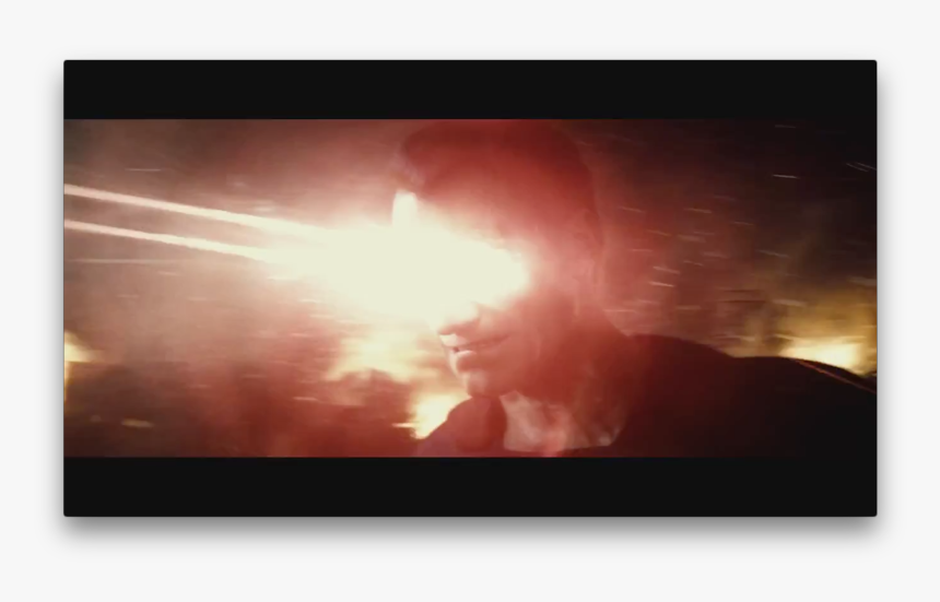 Superman Glowing Eyes, HD Png Download, Free Download