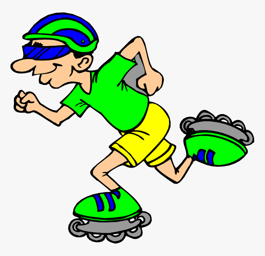Skating Skates Ice Quad - Do Roller Skating Clipart, HD Png Download, Free Download
