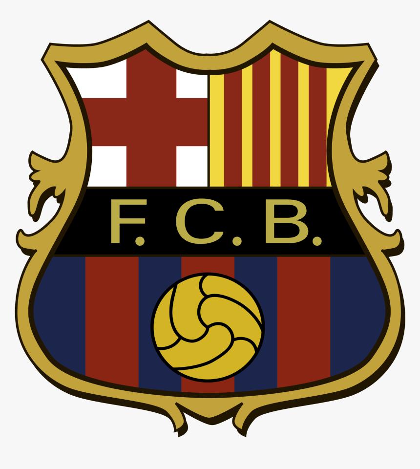 Transparent Barcelona Png Logo - Fc Barcelona Logo 1910, Png Download, Free Download