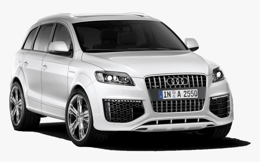 White Audi Suv - Audi Q7 Png Img, Transparent Png, Free Download