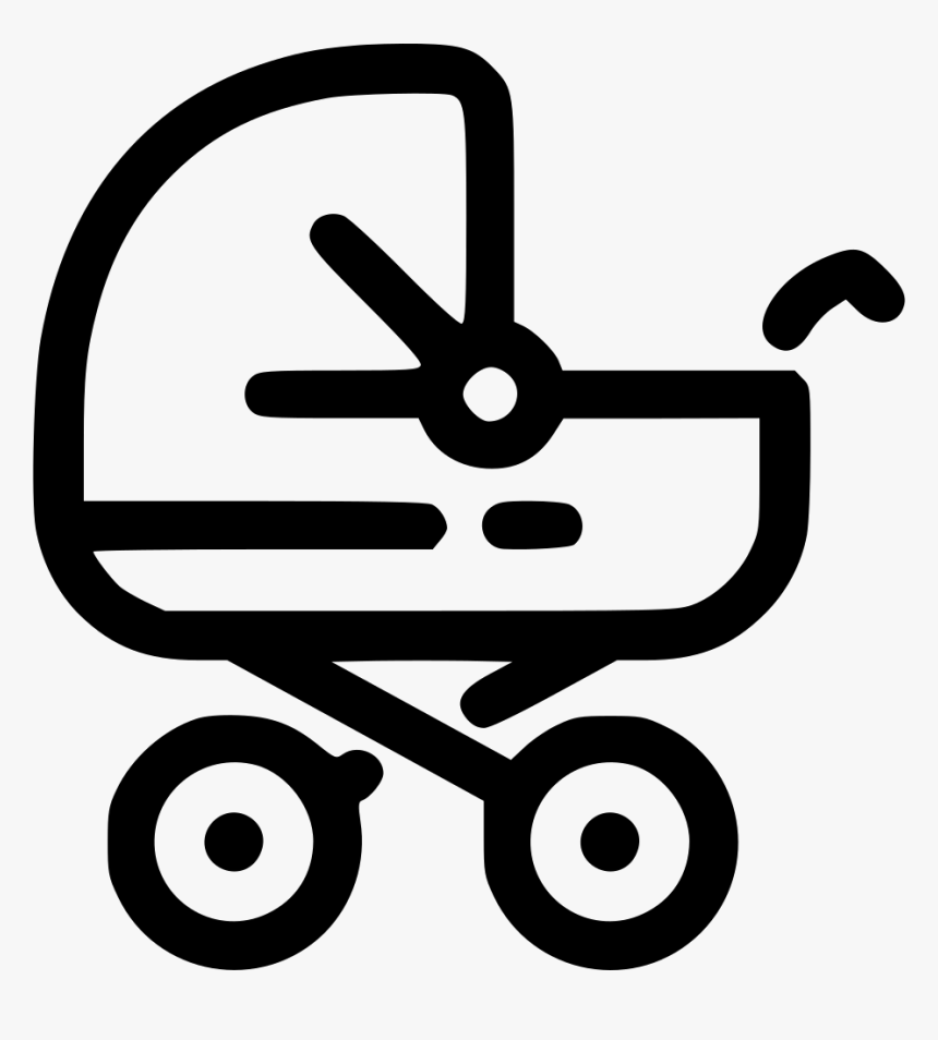 Transparent Cinderella Carriage Silhouette Png - Toy Stroller Icon Png, Png Download, Free Download