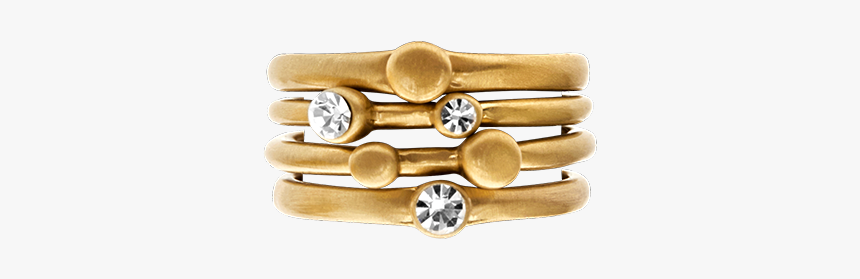 "Tihomira Three Crystal Ring Gold Plating""  Title=""tihomira - Bracelet, HD Png Download, Free Download"