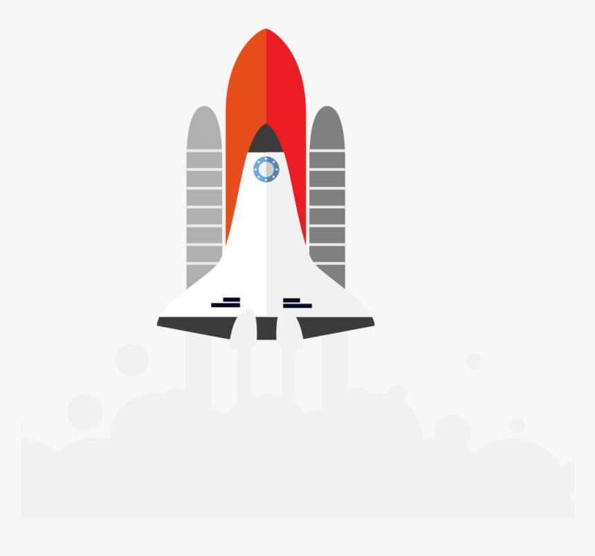 Lanzamiento De Cohete Dibujo, HD Png Download, Free Download