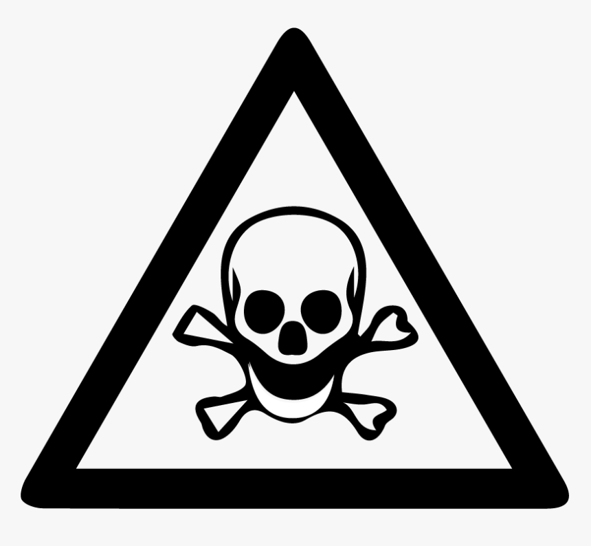 Warning Signs Dangerous Chemical Clipart , Png Download - Warning Signs Dangerous Chemical, Transparent Png, Free Download