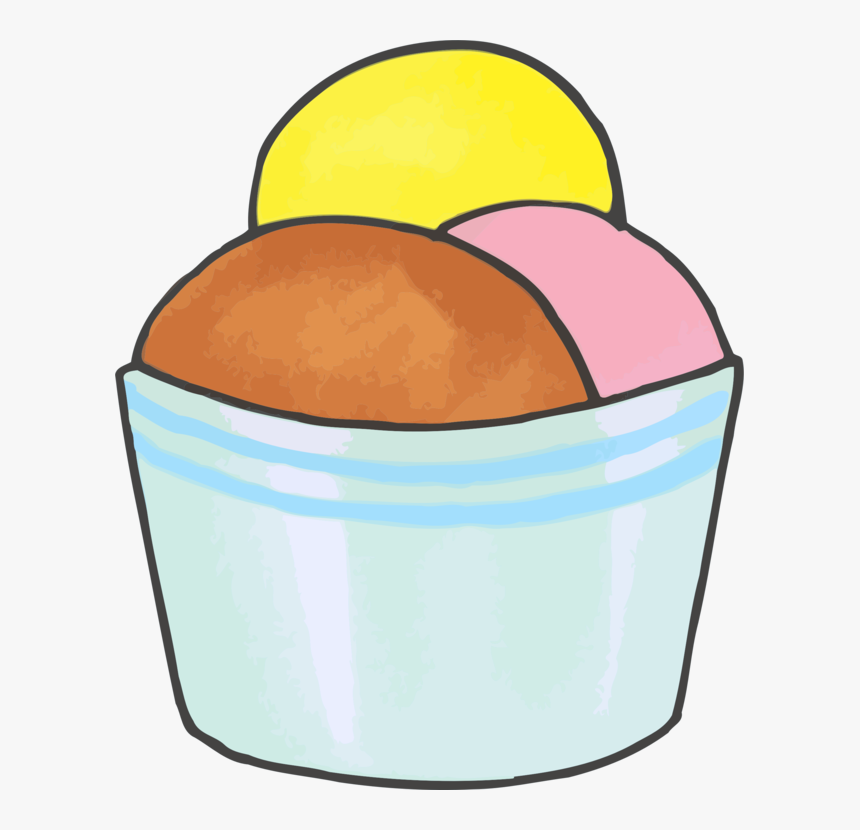 Food,line,ice Cream, HD Png Download, Free Download