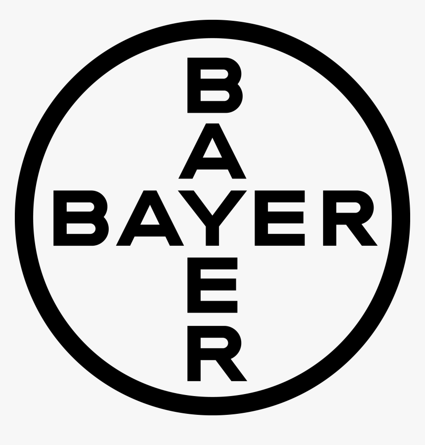 Bayer Cross - Bayer Logo Black And White, HD Png Download, Free Download