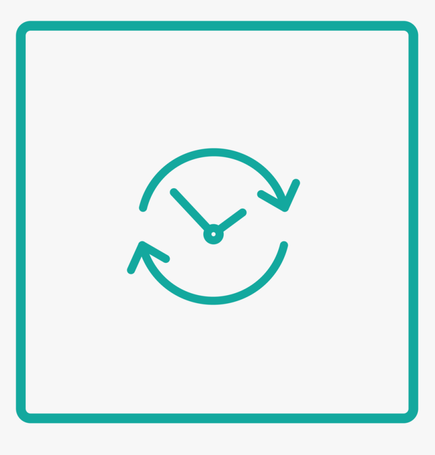 Advisage Books Page Icon Clock 2-07 - Circle, HD Png Download, Free Download