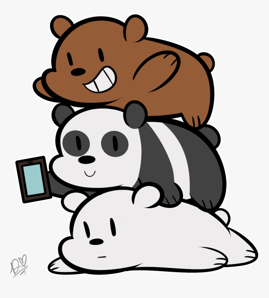 We Bare Bears Iphone Wallpapers Iphone 6 We Bare Bears Hd Png Download Kindpng