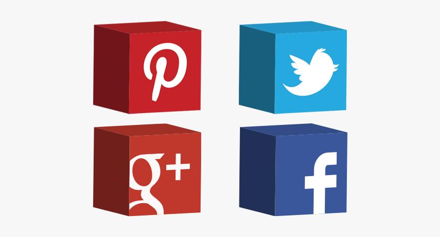 Social Media Png 3d, Transparent Png, Free Download