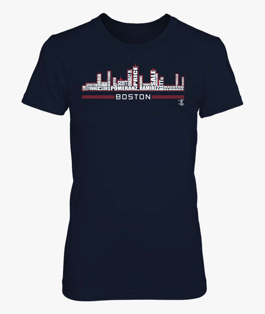 Boston Skyline T-shirt, Represent Your Favorite Team - Emily Tshirt, HD Png Download, Free Download