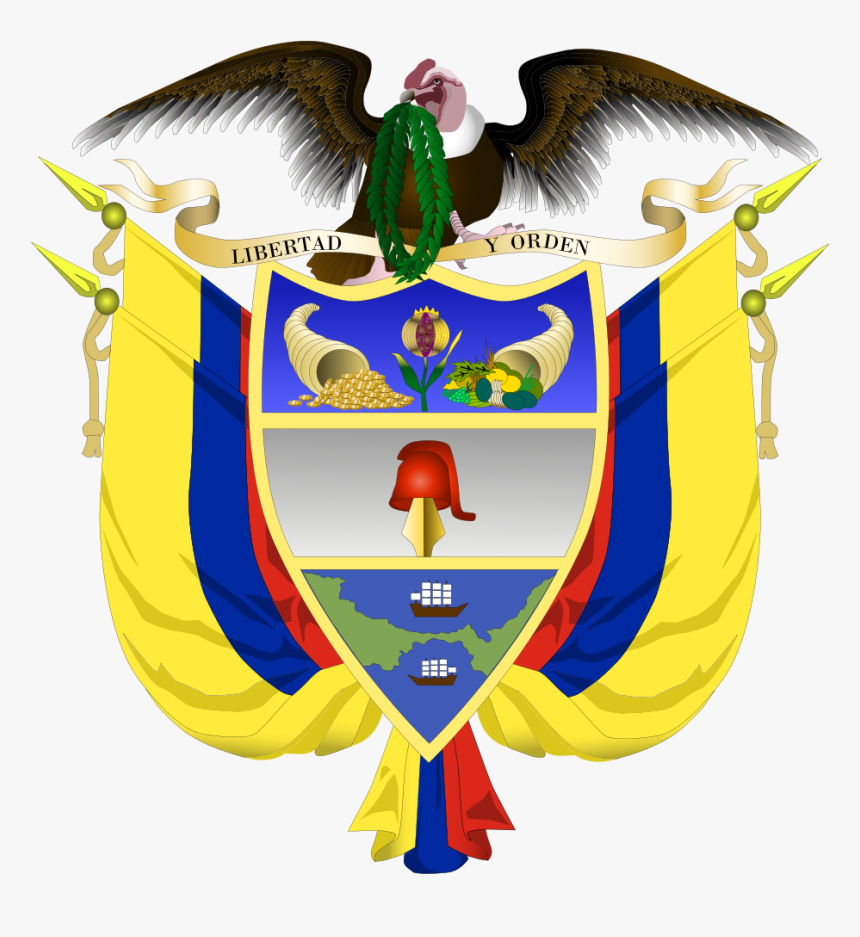 Colombian Coat Of Arms, HD Png Download, Free Download