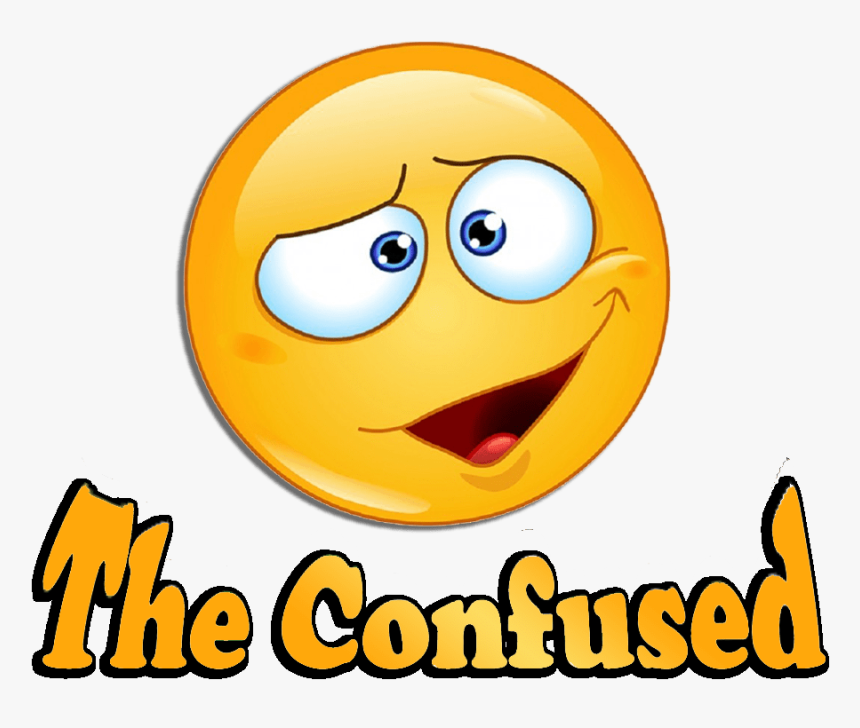 Clip Art Confused Pictures - Smiley, HD Png Download, Free Download