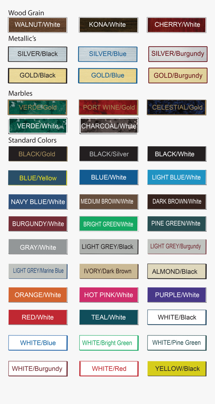 For Naag Tags Name Tag Colors Color Options For Our - Spring Colour Palette Colour Me Beautiful, HD Png Download, Free Download
