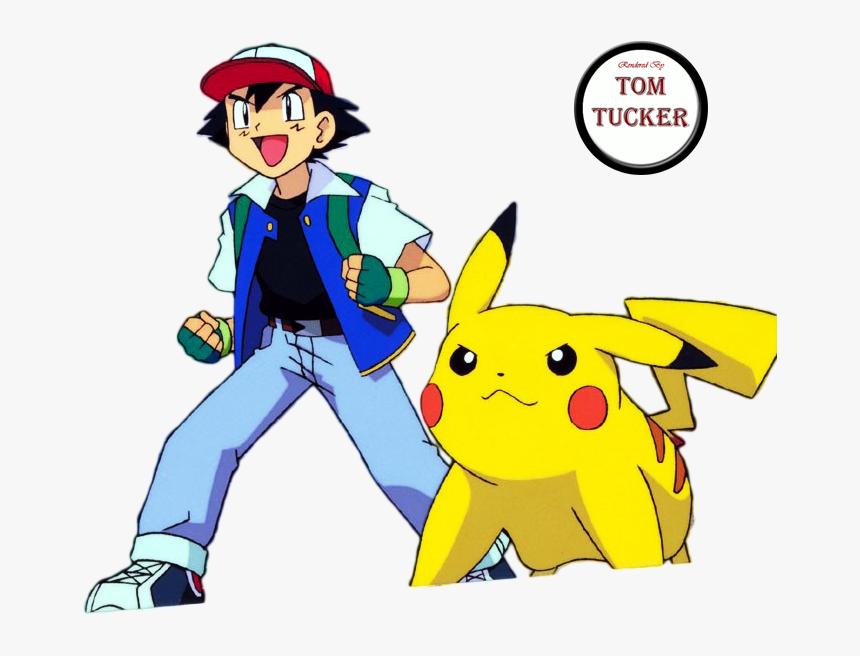 Pokemon Ash Pikachu Png , Png Download - Ash Ketchum Y Pikachu, Transparent Png, Free Download