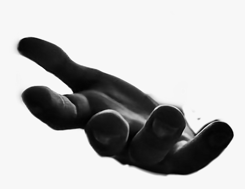 Hands Reachingout Fingers - Black Hand Reaching Out, HD Png Download, Free Download