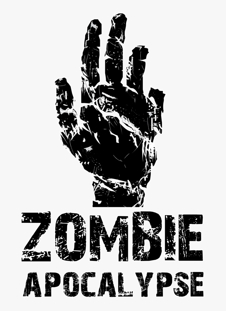 Apocalypse Hand Reaching Out - Zombie Apocalypse Zombie Fonts, HD Png Download, Free Download