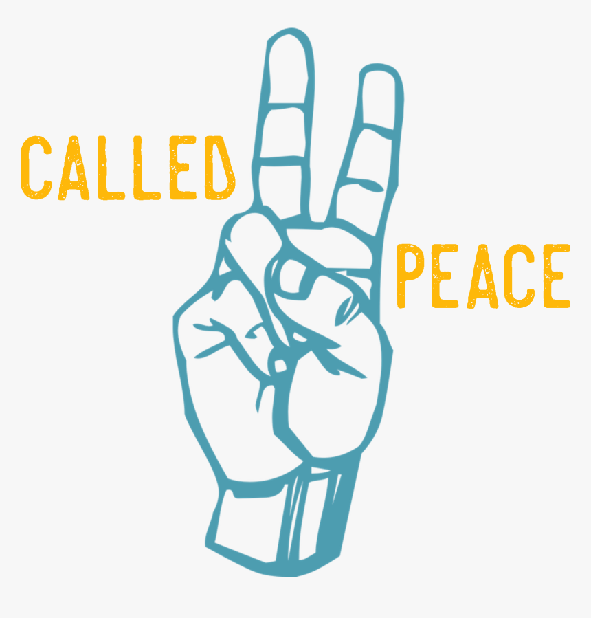 Practicing Peace In The Midst Of The Troubles Of The - Sign Language Peace Sign, HD Png Download, Free Download