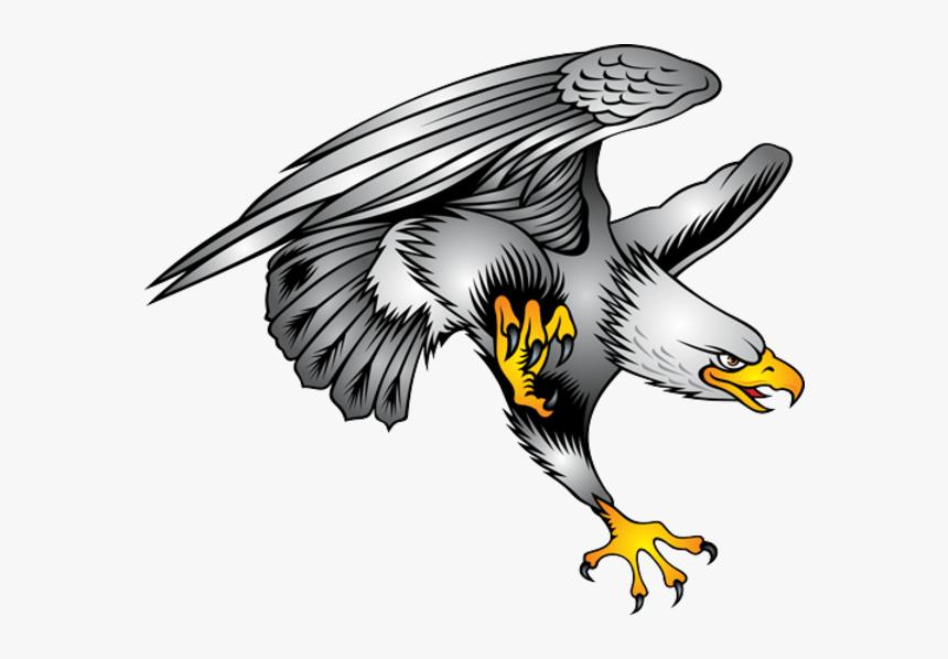 Bald Eagle Symbol Illustration - Eagle Tattoo Design, HD Png Download, Free Download
