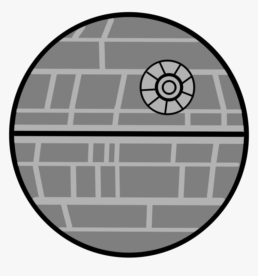 Death Star Star Wars Laser Clip Art - Star Wars Death Star Cartoon, HD Png Download, Free Download