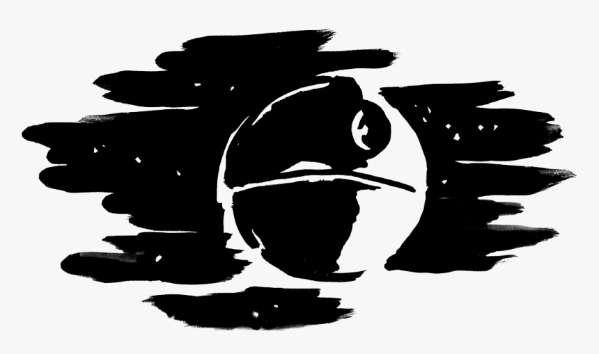 Yoda Anakin Skywalker Death Star Silhouette Clip Art - Death Star Silhouette Png, Transparent Png, Free Download