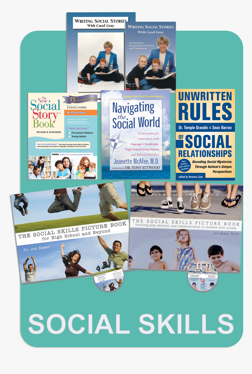 Social Skills Book Package For Autism, Discount - Flyer, HD Png Download, Free Download