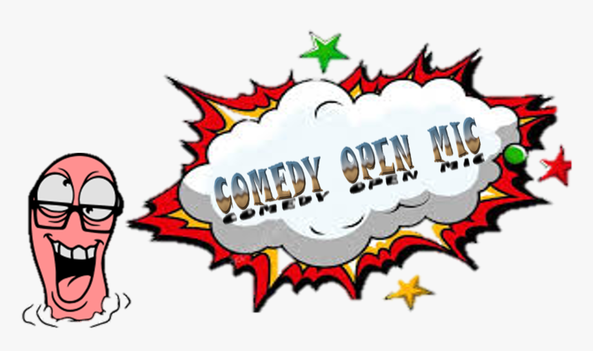 Transparent Open Mic Png - Vector Transparent Comic Background, Png Download, Free Download