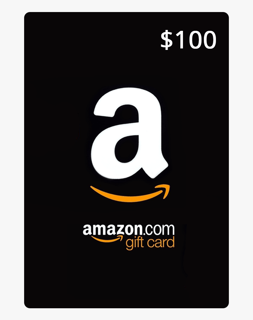Amazon Gift Card 100 Dollars, HD Png Download, Free Download