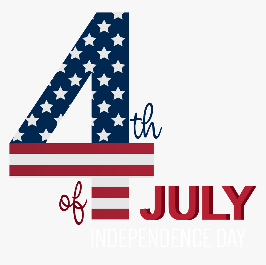 4th Of July Transparent Png Clip Art Image Clipart - 4th Of July Png, Png Download, Free Download