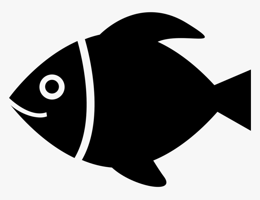 Download Tropical Fish Cartoon Fish Silhouette Svg Free Hd Png Download Kindpng