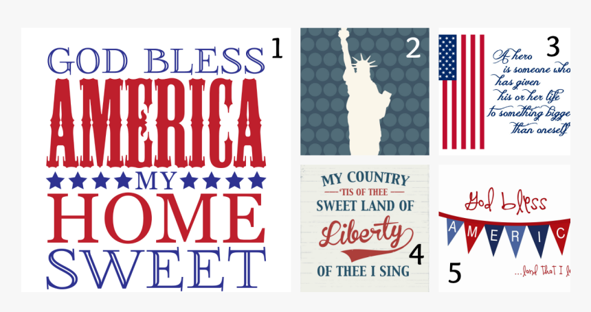 4th Of July Printables - Happy 4th Of July Printables, HD Png Download, Free Download