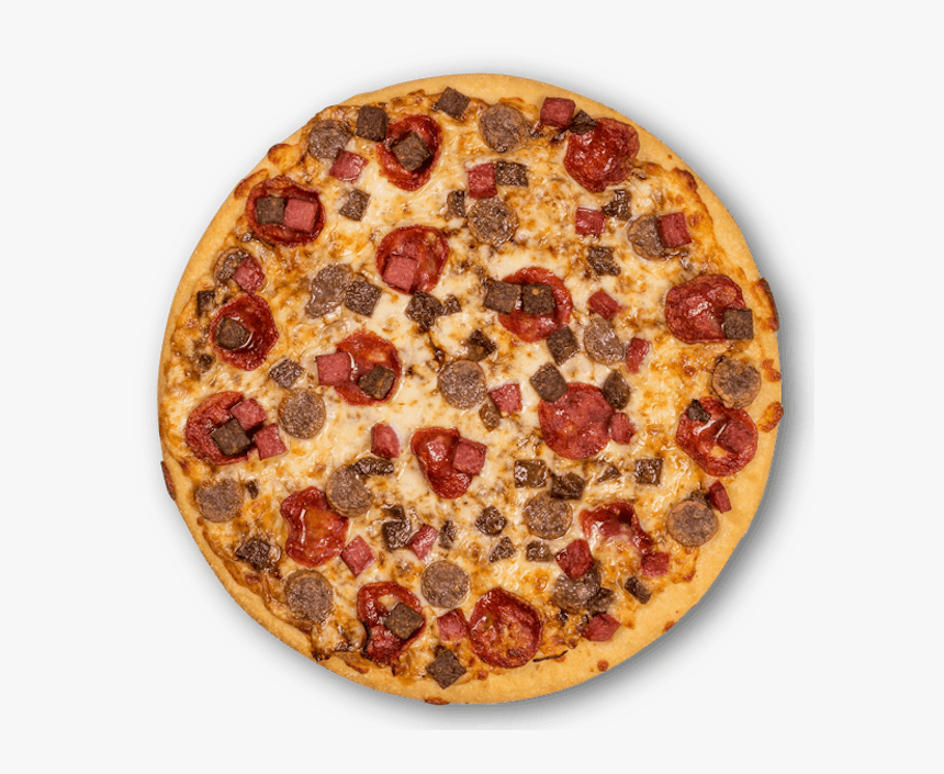 Meat Lovers - Meat Deluxe Crust Pizza, HD Png Download, Free Download