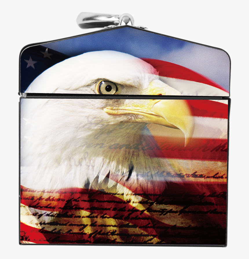 Eagle Happy Fourth Of July, HD Png Download, Free Download