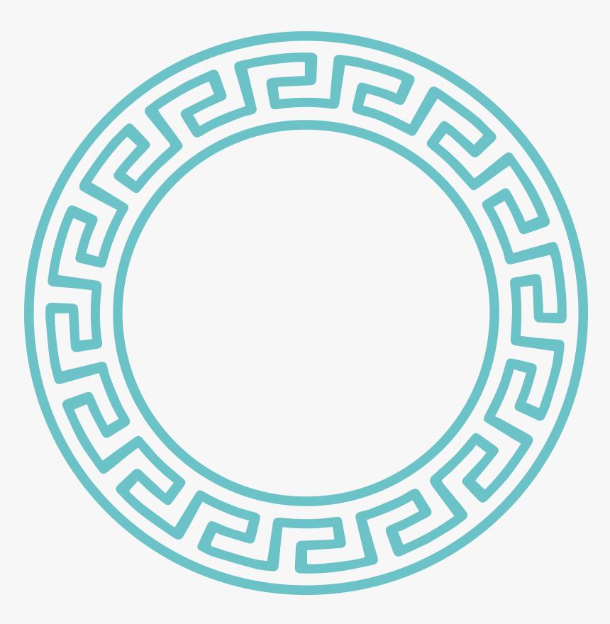 Greek Ring - Greek Round Pattern, HD Png Download, Free Download