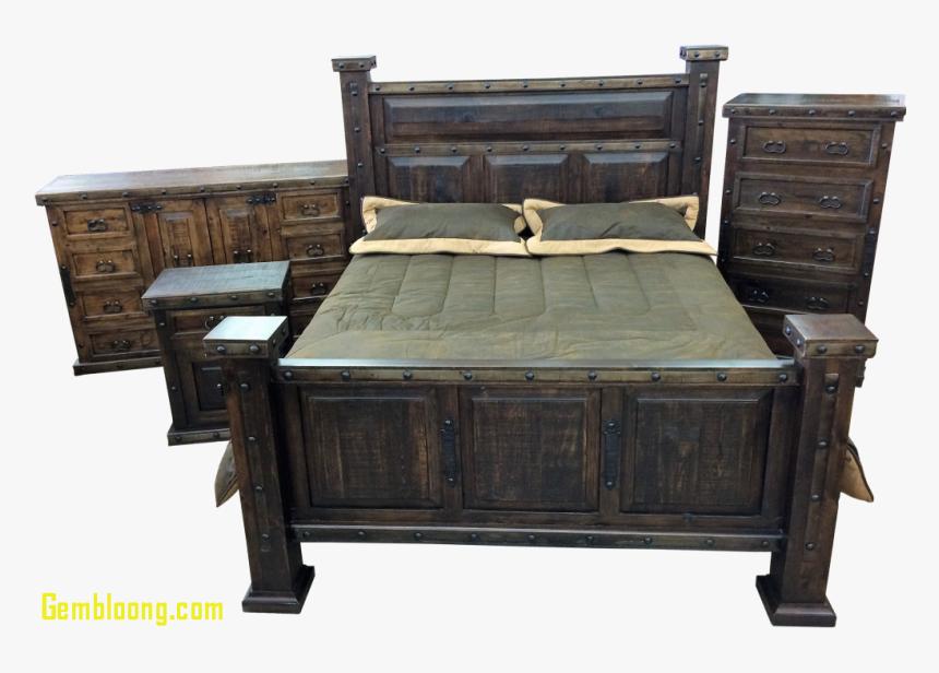 Transparent Rustic Wood Frame Png - Granada Rustic Bedroom Set, Png Download, Free Download