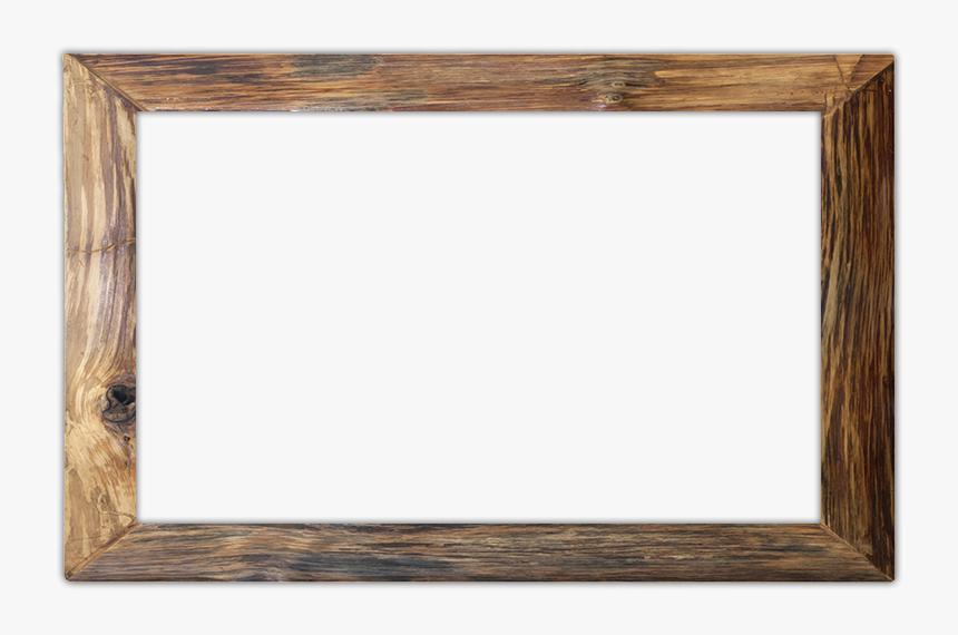 Rustic Wood Frame Png - Transparent Wood Frame Png, Png Download, Free Download