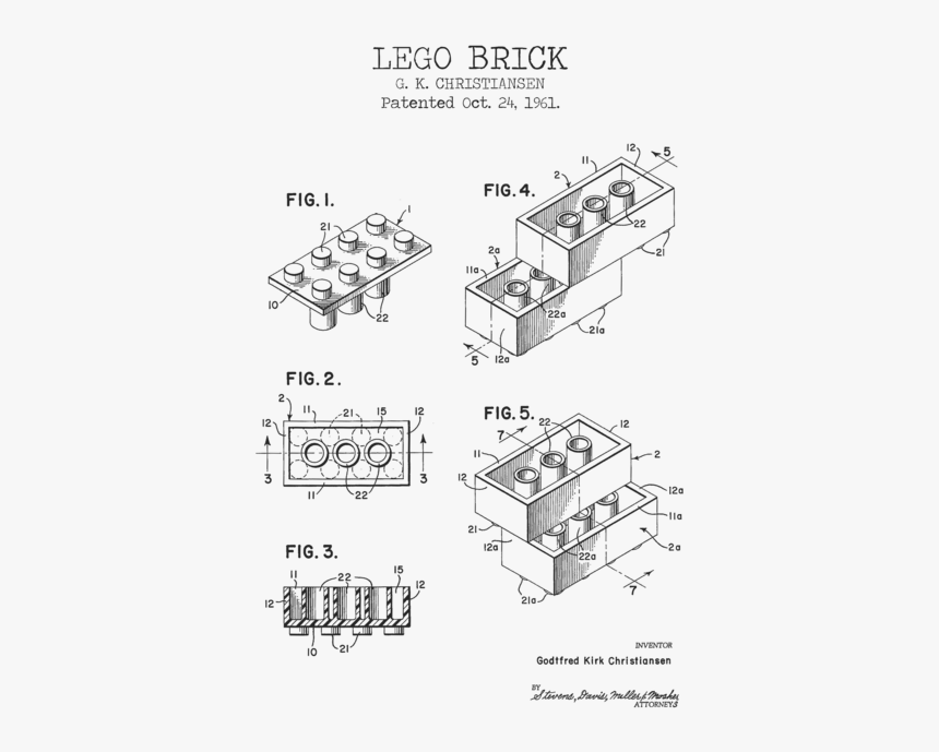 Parts Of A Lego, HD Png Download, Free Download