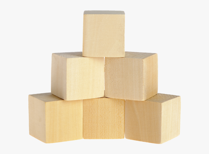 Building Blocks Transparent - Wooden Building Blocks Png, Png Download, Free Download