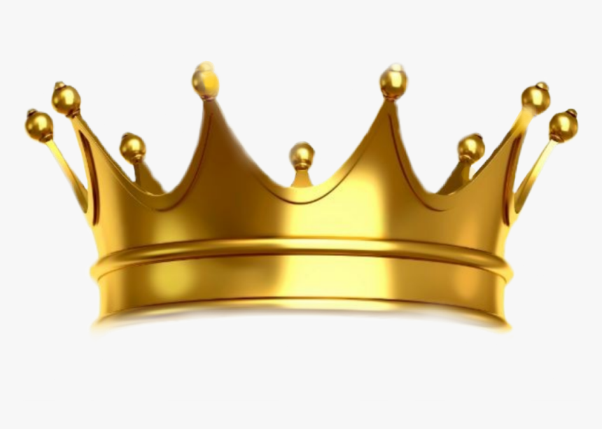 Gold Transparent Background Crown, HD Png Download, Free Download