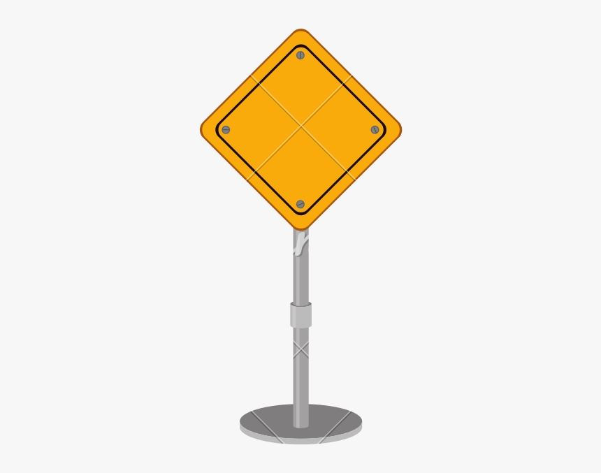 Blank Road Sign Png, Transparent Png, Free Download