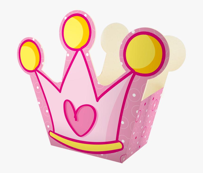 Ancheta Mediana Princesa Anch Co 01 03 Corona Rosa - Corona Princesa Png Dibujo, Transparent Png, Free Download